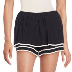 See By Chloé Women's Black Multi-layer Puff Shorts